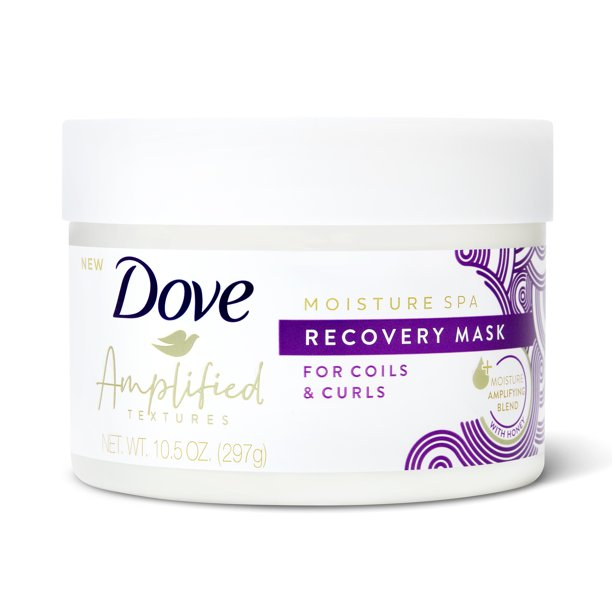 Dove - Dove Amplified Textures with Honey Moisture Spa Recovery Hair Mask 10.5 oz