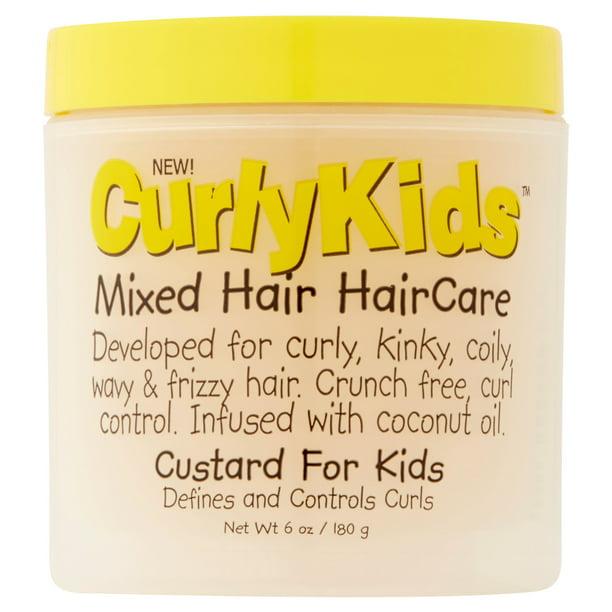 Curly Kids Mixed Texture Hair Care - CurlyKids Mixed Hair Kids Custard, 6 fl oz
