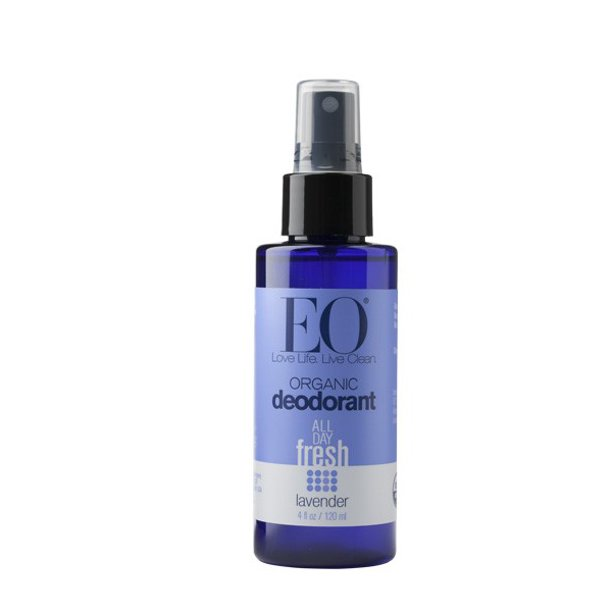Eo Products - EO Organic Spray Deodorant, Lavender, 4 Fl Oz