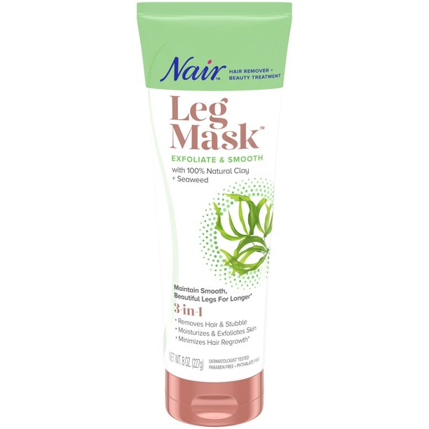 Nair - Nair Hair Remover & Beauty Treatment Seaweed Leg Mask 8.0oz