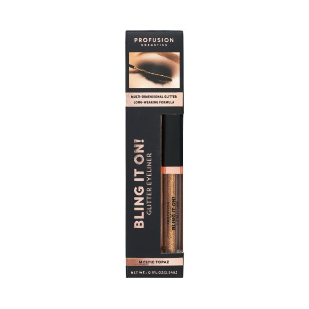 Profusion Cosmetics - Profusion Cosmetics Bling It On! Glitter Eyeliner, Copper Gem, 0.8 oz.