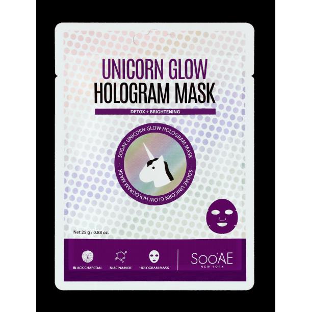 SOOAE - Unicorn Glow Hologram Mask