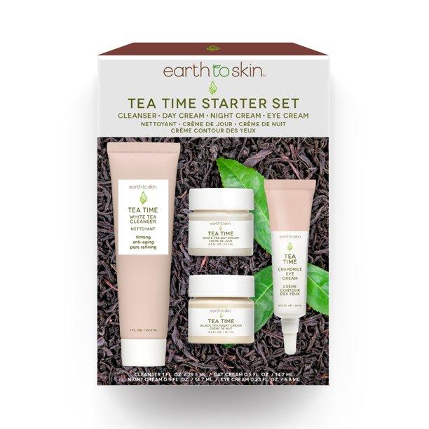 Earth to Skin - Tea Time Anti-Aging Set