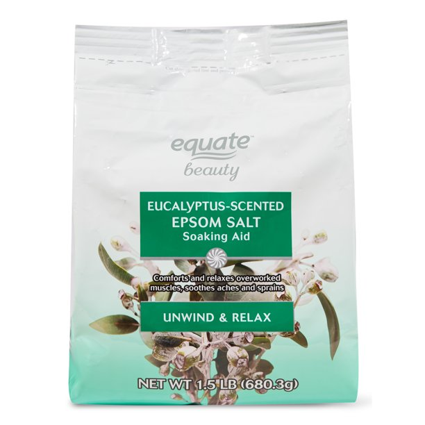 Equate Beauty. - Eucalyptus-Scented Epsom Salt Soaking Aid
