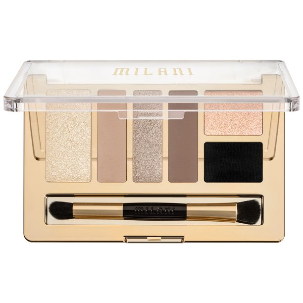 Milani - Milani Everyday Eyes Eyeshadow Collection, 01 Must Have Naturals, 0.21 oz