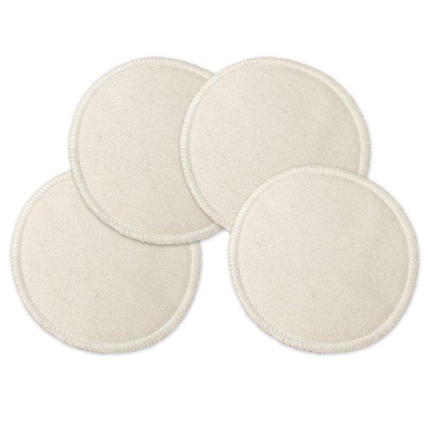 NuAngel - NuAngel Deluxe Reusable Natural Cotton Facial Rounds, 4 Count