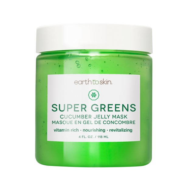 Earth to Skin - Earth to Skin Super Greens Cucumber Jelly Mask, 4 oz