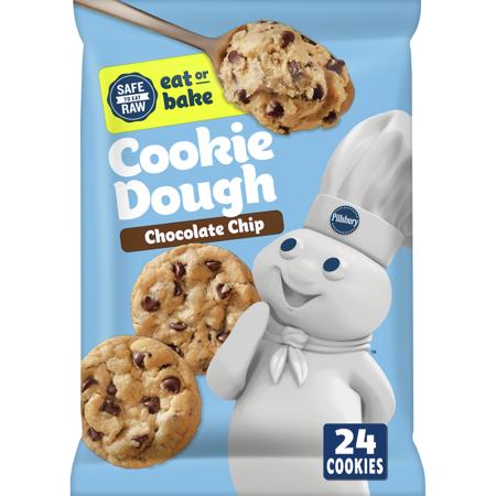 Walmart - Pillsbury Ready To Bake Chocolate Chip Cookies, 24 Ct, 16 oz