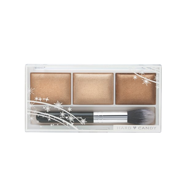 Hard Candy - Hard Candy Baked Trio Eyeshadow, 1331 Meet me in Tahiti (Bronze), 0.30 Oz.