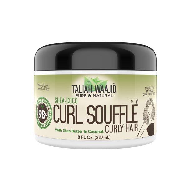 Walmart.com - Taliah Waajid Pure & Natural Shea-Coco Curly Hair Curl Souffle, 8 fl oz - Walmart.com