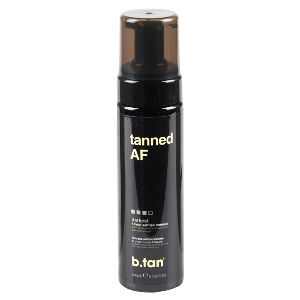 b.tan - b.tan tanned AF...self tan mousse, 6.7 fl oz