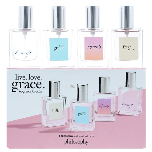 philosophy - Philosophy Fragrance Favorites 4 Piece Gift Set. Fresh, Grace, Joyously & Loveswept