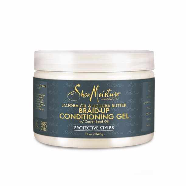 Sheamoisture Jojoba Oil and Ucuuba Butter Braid Up Conditioning Gel