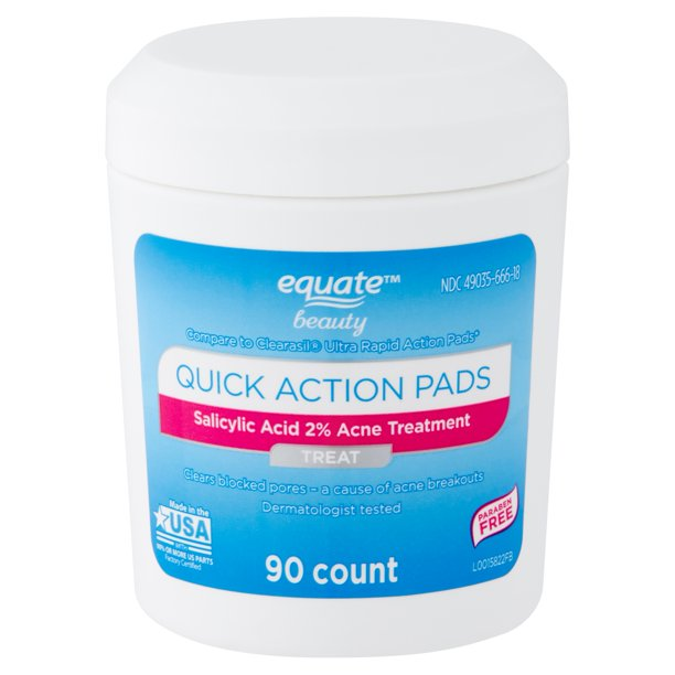 Equate Beauty. - Quick Action Pads
