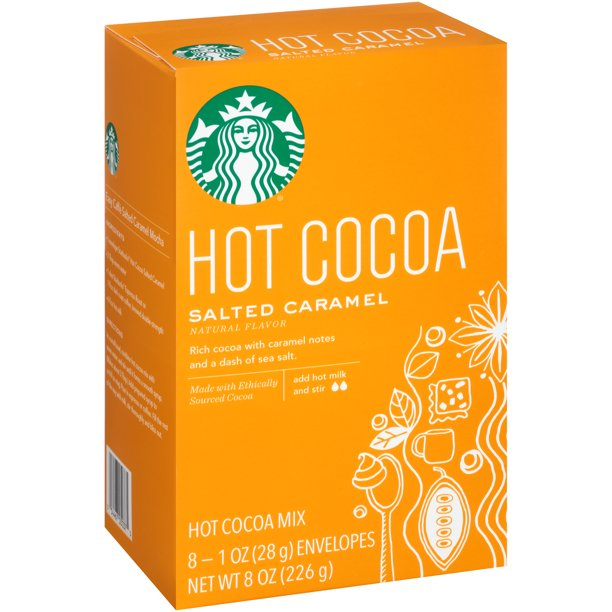 Starbucks - Starbucks Salted Caramel Hot Cocoa Mix, 8 count