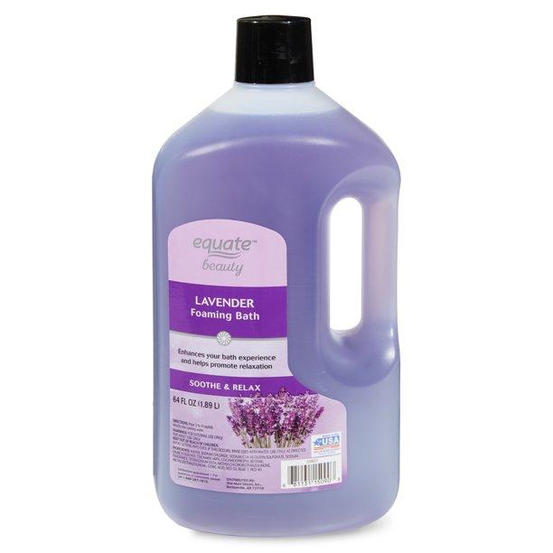 Equate Beauty. - Equate Beauty Lavender Foaming Bath, 64 fl oz