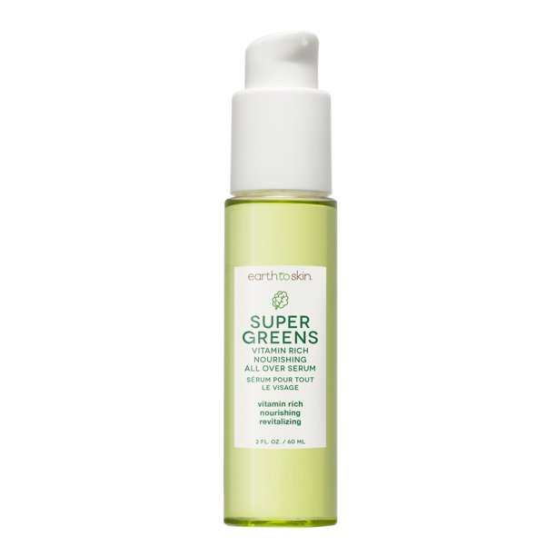 Earth to Skin - Earth to Skin Super Greens Nourshing All Over Serum, 2.03 oz