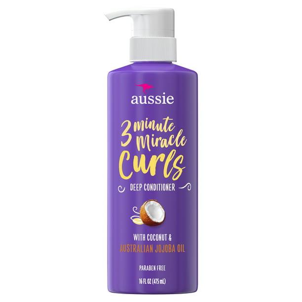Aussie Aussie 3 Minute Miracle Curls Deep Conditioner, 16 fl oz
