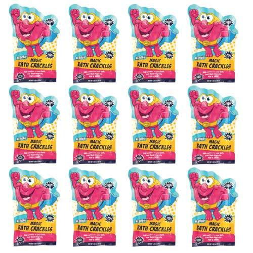 Mr. Bubble Mr Bubble, Magic Bath Crackles,1 Oz Each, Pack Of 12