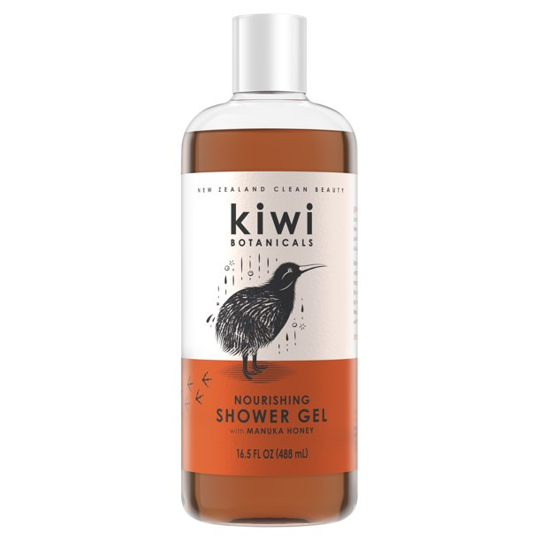 Kiwi Botanicals - Kiwi Botanicals Nourishing Shower Gel for Women, Manuka Honey, 16.5 fl oz