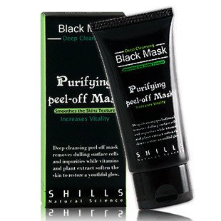Walmart.com - SHILLS Purifying Black Peel-off Mask,Facial Cleansing, Blackhead Remover Deep Cleanser, Acne Face Mask (Single) - Walmart.com