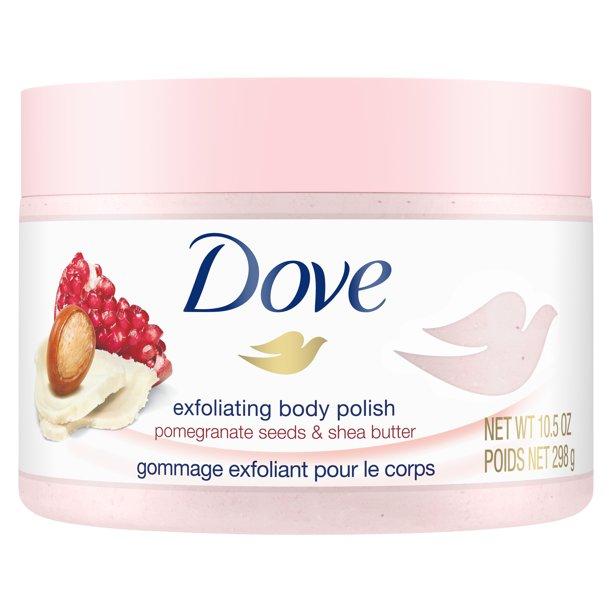 Dove - Dove Exfoliating Body Polish Body Scrub, Pomegranate and Shea, 10.5 Ounce
