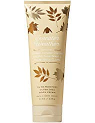 Bath & Body Works - Bath and Body Works SWEATER WEATHER Ultra Shea Body Cream 8 Ounce (2018 Edition)