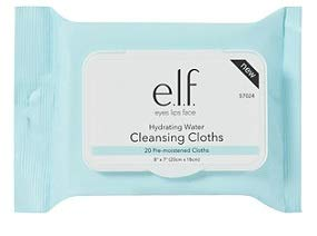 E.l.f Cosmetics - e.l.f. Cosmetics Hydrating Water Cleansing Cloths, pack of 1