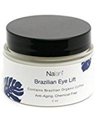 Nalani - Nalani Brazilian Eye Lift Cream, All Natural, Organic, Eliminate Wrinkles w/ Day & Night Cream w/ Brazilian Coffee, Banana Oil, Mango Butter, Olive, Argan, Aloe, Shea Butter, Avocado, Sunflower, 2oz