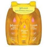 amazon.com - Johnson's Baby Shampoo Value Pack (total 57.8 oz)