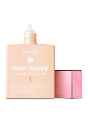 Benefit - Benefit Cosmetics Hello Happy Soft Blur Foundation Shade 1