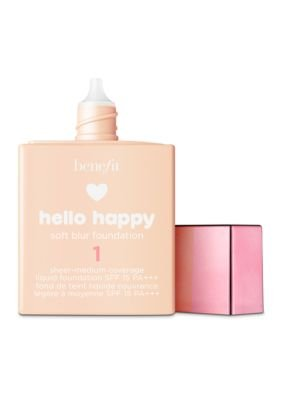 Benefit - Benefit Cosmetics Hello Happy Soft Blur Foundation Shade 1