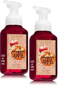 Bath & Body Works Bath and Body Works 2 Pack Pumpkin Apple Gentle Foaming Hand Soap. 8 Oz