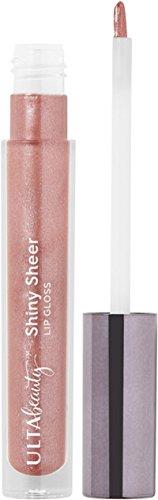 Ulta Beauty - Ulta Shiny Sheer Lip Gloss, Sweet Tea (medium brownish pink with shimmer and glitter), 0.17 Oz