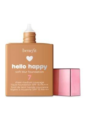 Benefit - Benefit Cosmetics Hello Happy Soft Blur Foundation Shade 7
