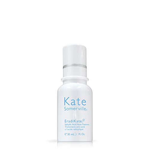 Kate Somerville Skincare - Kate Somerville EradiKate Salicylic Acid Acne Treatment (1 Fl. Oz.) Overnight Treatment Lotion to Clear & Prevent Acne Blemishes, Smooth Skin Texture, and Minimize the Look of Pores