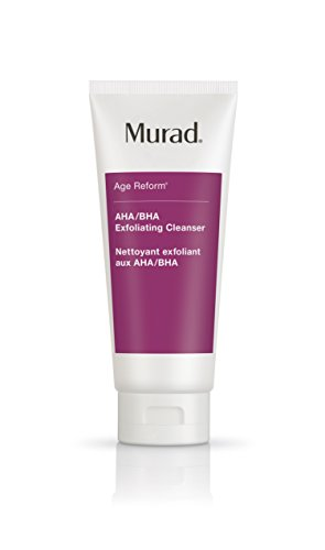 Murad - Murad Age Reform AHA/BHA Exfoliating Cleanser - (6.75 fl oz), An Intensive Face Cleanser with a Trio of Exfoliating Acids and Jojoba Skin-Polishing Beads to Reveal a Younger-Looking Complexion