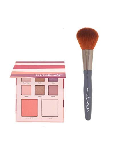 Ulta Beauty - Ulta Beauty Limited Edition Mini Eyeshadow/Blush/Highlighter Palette (Sweets, Sugar Coat, Glaze, Indulge, Drizzle, Mocha) & Blush Brush