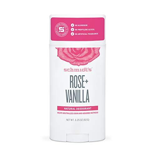 Schmidt's Deodorant - Rose and Vanilla