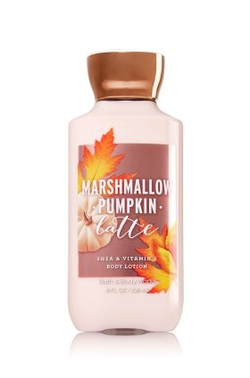 Bath & Body Works - Shea Vitamin E Lotion Marshmallow Pumpkin Latte
