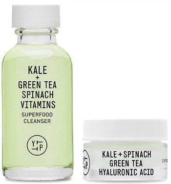 Youth to the People - Youth To The People Kale and Green Tea Spinach Vitamins Age Prevention Cleanser & Kale + Spinach Green Tea Hyaluronic Acid Travel Size