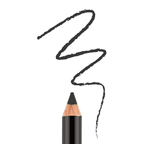 Bodyography - Bodyography Cream Eye Pencil (Onyx): Black Salon Wooden Waterproof Makeup Pencil with Coconut Oil | Long-Wearing, Cruelty-Free, Gluten-Free, Paraben-Free