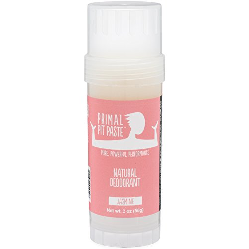 Primal Pit Paste - PRIMAL PIT PASTE Deodorant Stick Jasmine Natural, 2 OZ