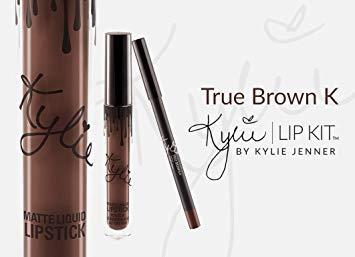 amazon.com - Kylie Jenner Lip Gloss Matte True Brown K Lipstick
