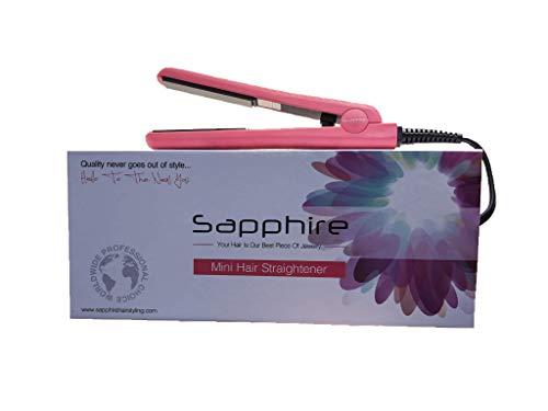 Sapphire - Travel Hair Straightener Pink