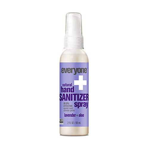 Everyone - Everyone Hand Sanitizer Spray, Lavender and Aloe, 2 Ounce, 6 Count