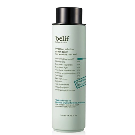 Belif - Belif Problem Solution Green Toner (200ml, Mild acne-prone skin)
