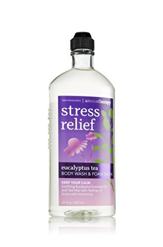 Earth Vibes - Bath and Bodyworks Stress Relief Eucalyptus Tea Body Wash 10fl Oz