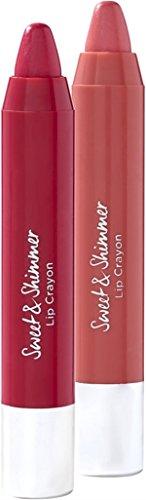 Ulta Beauty - Sweet & Shimmer Lip Crayon Duo; Pink & Mauve