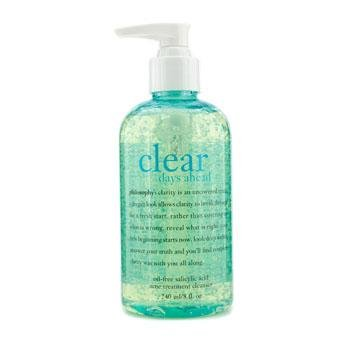 philosophy - Clear Days Ahead Oil-Free Salicylic Acid Acne Treatment Cleanser